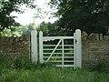 Gated Wall nr Marholm, Peterborough - geograph.org.uk - 165980.jpg