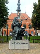 Gdańsk, pomnik Jana Heweliusza