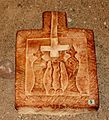 Gdańsk muzeum archeologiczne głowica kolumny z piaskowca 09.07.10 pl.jpg