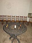 Gedenkstätte an den Ersten Weltkrieg in der Marienkirche, Flensburg mit Flensburger Wappen, Bild 05.JPG