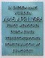 Gedenktafel Hauptstr 74 (Friedn) La Belle.JPG