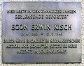 Gedenktafel Hohenstaufenstr 36 (Schö) Egon Erwin Kisch.jpg
