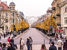 Gediminas Avenue in autumn.jpg