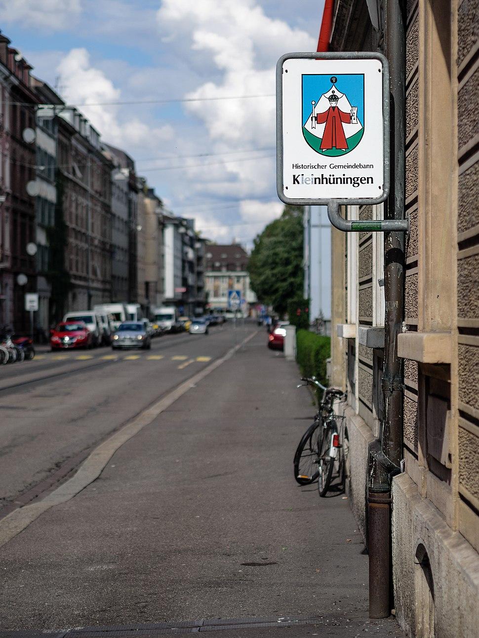 Gemeindebann Kleinhüningen