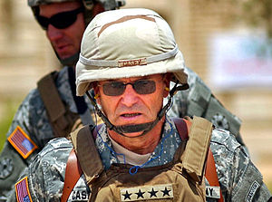 George W. Casey Jr. - Casey in Tikrit, Iraq in 2006.