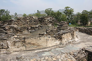 Butkara Stupa - Remains of the Butkara Stupa