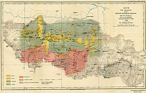 Alexander Heron - Heron's geological map of Everest region