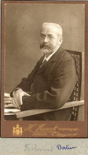 Cayley–Hamilton theorem - Image: Georg Frobenius