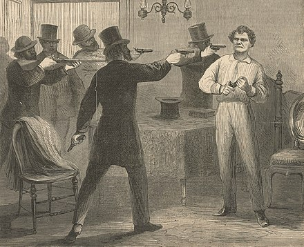 George W. Ashburn was assassinated for his pro-black sentiments. George W. Ashburn.jpg