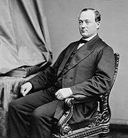 George Washington McCrary, Brady-Handy bw photo portrait, ca1860-1875.jpg