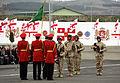 Georgian 31st Light Infantry Battalion leaves for Afghanistan (2010).jpg