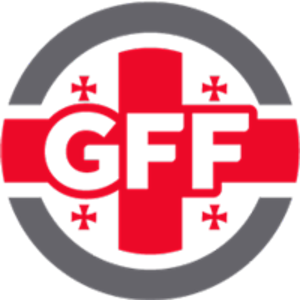 Georgia national under-19 football team - Image: Georgian Football Federation logo
