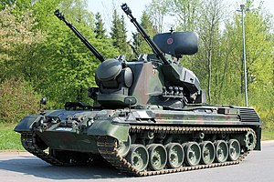 Flakpanzer Gepard - Gepard 1A2 of the German Army