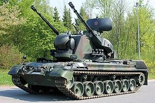 Flakpanzer Gepard Self-propelled anti-aircraft gun