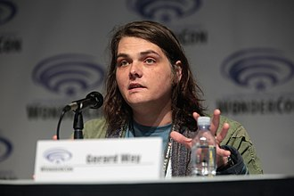 Gerard Way - Way promoting his comic book projects with DC Comics at the 2017 WonderCon