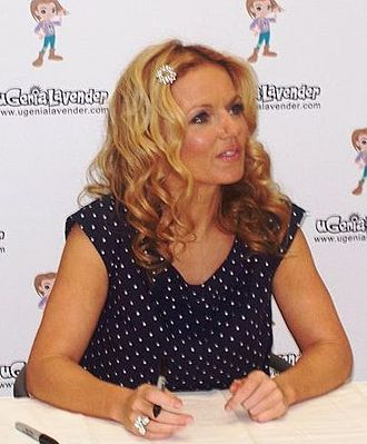 Geri Halliwell - Halliwell at a book signing in 2008