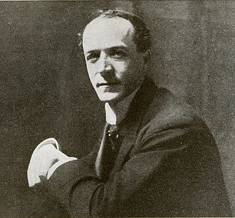 Gervase Elwes - Elwes, circa 1920 (photo by Robin Legge).