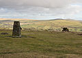 Gibbet Hill trig point and White Tor.jpg