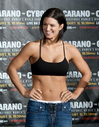 Gina Carano, American actress and MMA fighter