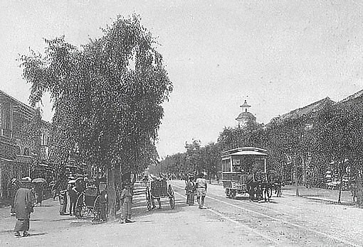 Ginza in 1880s
