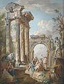 Giovanni Paolo Panini (circle) Predigt eines Apostels in römischen Ruinen.jpg