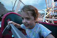 Girl at Homecoming fair, O'Fallon, Illinois