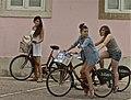 Girls on Bicycles (6070711694).jpg