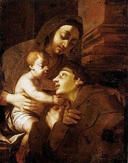 Giuseppe Nicola Nasini - A Virgem com o Menino Jesus e Santo Antônio.jpg