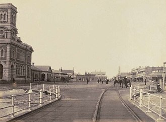 Glenelg, South Australia - Glenelg from the Jetty around 1869