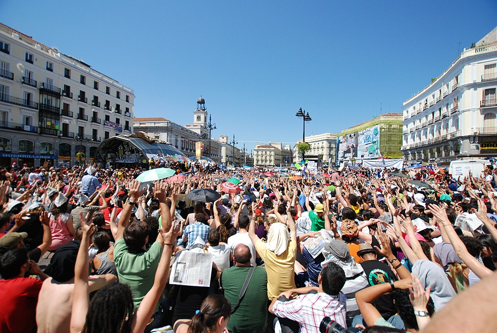 Go Spanish revolution - Indignados