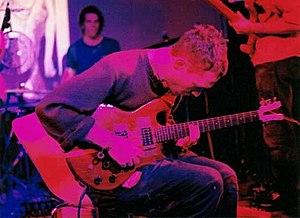 David Bryant (musician) - David Bryant playing guitar for Godspeed You Black Emperor! in 2000