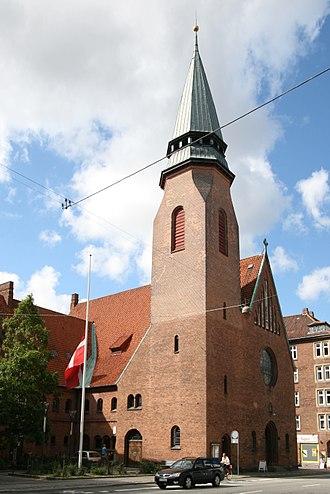 Godthaab Church, Copenhagen - Image: Godthaabskirken Copenhagen