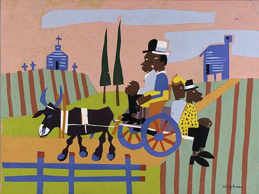Going to Church, by William H. Johnson