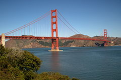 Golden Gate Bridge seen from the Presidio in San Francisco 42