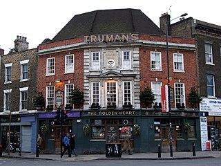 Golden Heart, Spitalfields pub in Spitalfields, London
