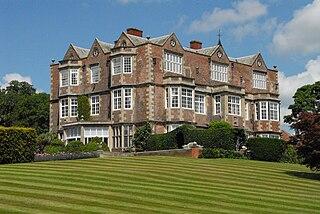 Goldsborough Hall Stately home in Goldsborough, North Yorkshire, England