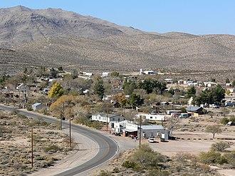 Goodsprings, Nevada - The town of Goodsprings, Nevada on November 26, 2006.