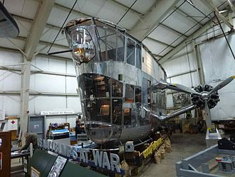 K-class blimp - Goodyear ZNP-K Control Car on display at the New England Air Museum