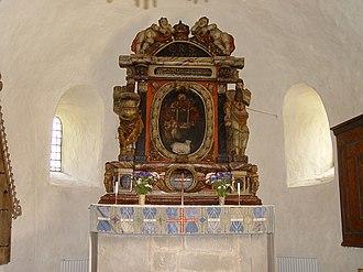 Alva Church - Image: Gotland Alva Kirche 04