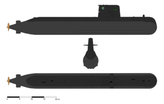 Gotland-class submarine - Drawing of the ships in the class
