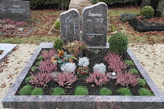 St. Johann (Reutlingen) - Grave Friedrich Wilhelm Schnitzler - Cemetery Ohnastetten