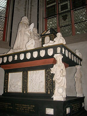 Christopher, Duke of Mecklenburg - Christopher's tomb in Schwerin Cathedral
