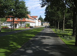 Bad Driburg - Bad Driburg Spa and Hotel in The Count's Park