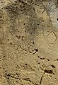 Graffiti and Weathering at the Ġgantija Northern Temple.jpg