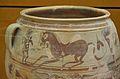 Gran recipient d'emmagatzematge amb decoració figurada (detall), Edeta, Museu de Prehistòria, València.JPG
