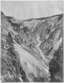 Grand Canyon of the Yellowstone, from the brink of the lower falls. Yellowstone National Park. - NARA - 517647.tif