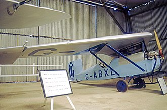 Granger Archaeopteryx - The sole Archaeopteryx displayed in airwothy condition at the Shuttleworth Collection, Old Warden airfield, in 1972