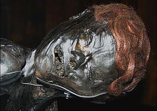 Grauballe Man Iron Age bog body found in Denmark
