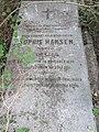 Grave of Sophie Hansen (née Förster) – St. Marx Cemetery, 2016 (II).jpg