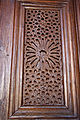 Great Mosque of Kairouan - carved panel of the main door of the prayer hall.jpg